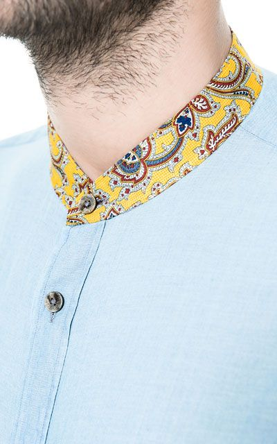 PRINTED VOILE SHIRT - Casual - Shirts - Man - ZARA India Ref. 5445/409,  2,790 INR