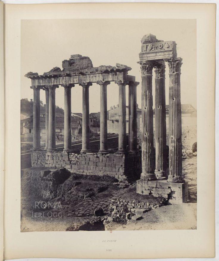 Tempio di Saturno  1863