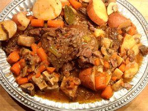 Yankee Pot Roast Recipe, Traditional New England Recipes