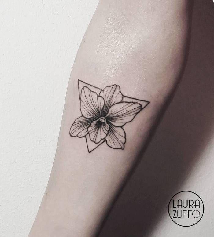 Orchid Tattoo by laurazuffottt