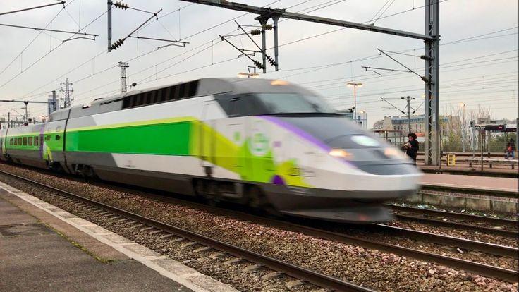 Gare de Saint-Denis - TGV Sud-Est, Duplex, IZY, PBA, PBKA, TMST, e320, Z...