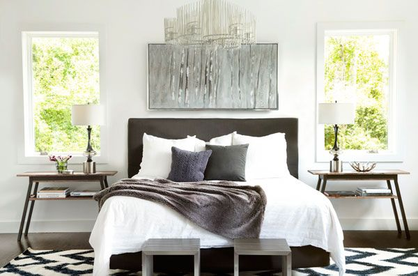 A Luxe, Stylish Bedroom | Decorist