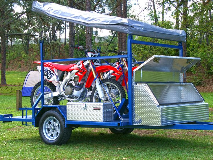 Buy a motorbike camper trailer today in 2020 Camper