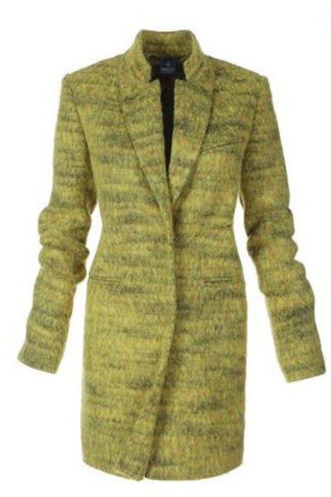 Manteau d'hiver façon trench
