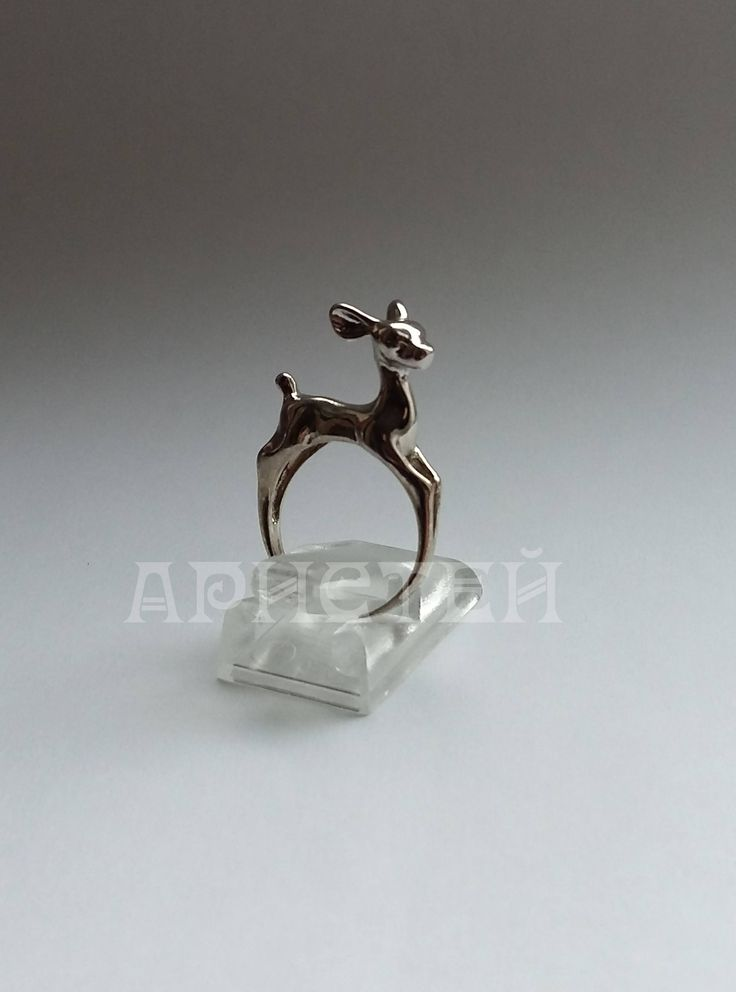 """Ring """"Deer"""" by ARISTEY on Etsy"""