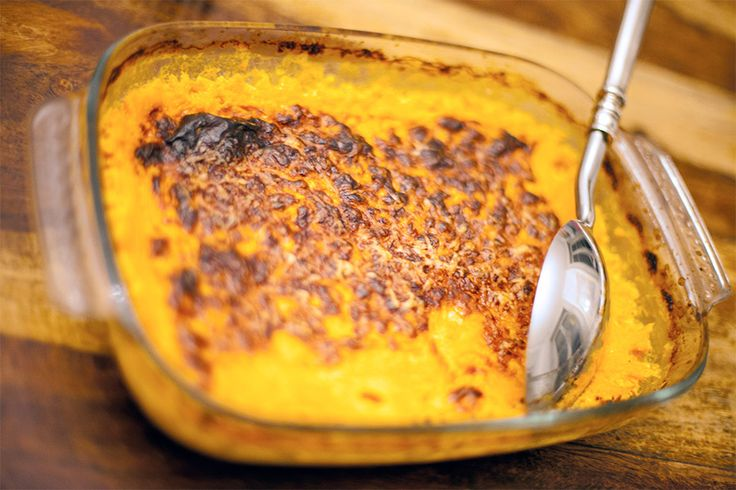 Gratin de courges butternut au Thermomix #TM5