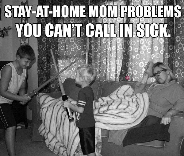 Stay-at-home Mom Problems