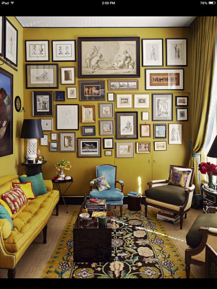 Mustard Olive by Benjamin Moore; color inspiration for my Chicago home!