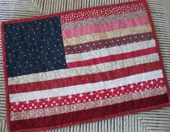 65 best American flag quilts images on Pinterest | American flag ... : flag quilts - Adamdwight.com
