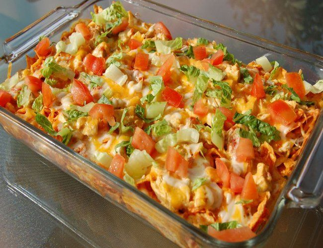 Mexican Chicken Casserole – Healthy To Fit – Healthy To Fit
