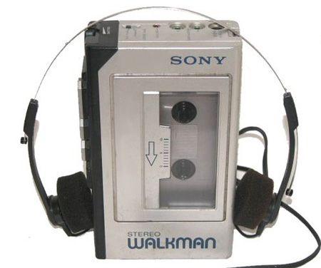 walkman: u were cool if u had one of these!  I had many, I was EXTRA cool!