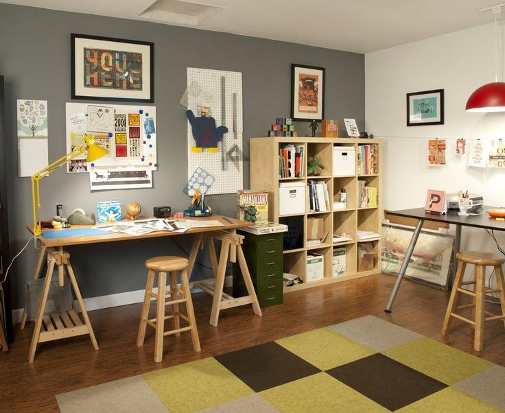 Studio space of Iluatrator Scotty Reifsnyder