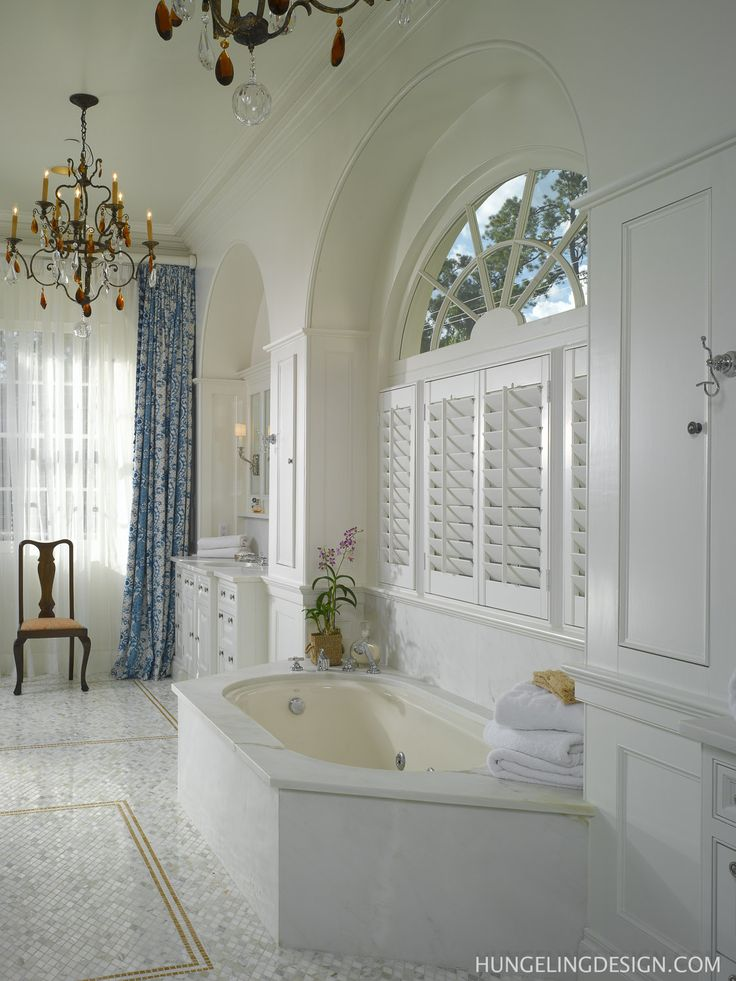40 best bathroom inspiration plantation shutters images for Clive christian bathroom designs