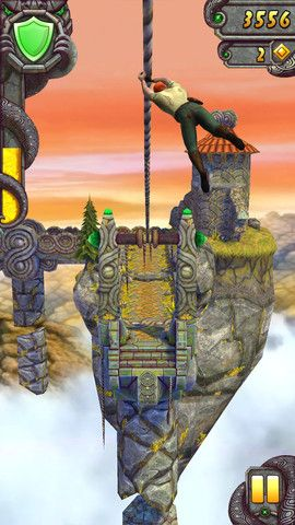 Temple Run 2 For iPhone And iPad, Don't Let The Monster To Kiss Your ASS