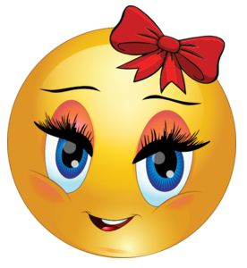 Red Bow Smiley | Cartoon smiley face, Emoji images, Emoji