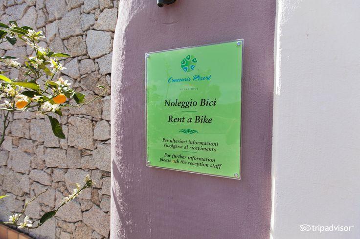 Bike rental @CruccurisResort #villasimius #rentabike