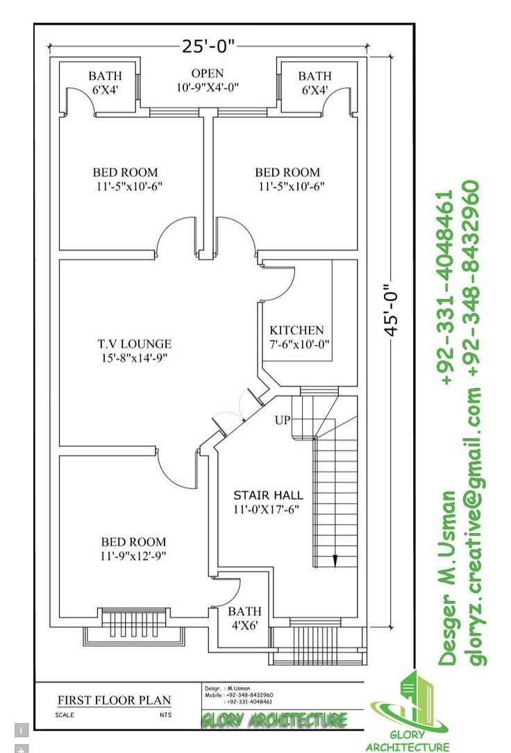 Drawing House Floor Plans: 13 Best 25x45 House Plan Elevation Drawings Map Naksha