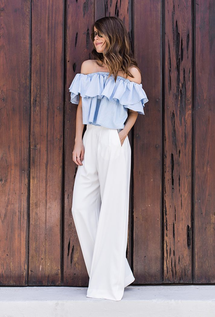 Wide trousers / Pantalones anchos