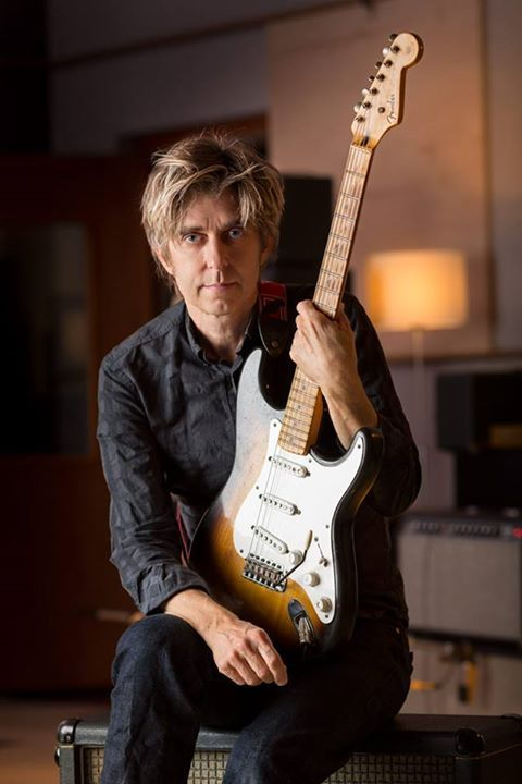 This is Eric Johnson's favorite Strat, which he stumbled across in Florida while on tour some years ago. Eric removes the tremolo covers from all of his guitars to increase both sustain and resonance