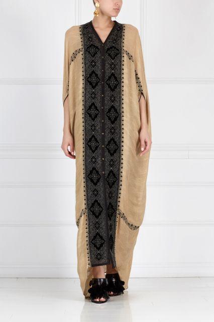 Платье «Кафтан Махараджи» Asian Spirit - Роскошное платье-пальто из коллекции…