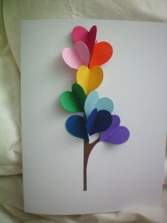 DIY Card Kit makes 10  3D handmade cards USA by Babybyjen on Etsy