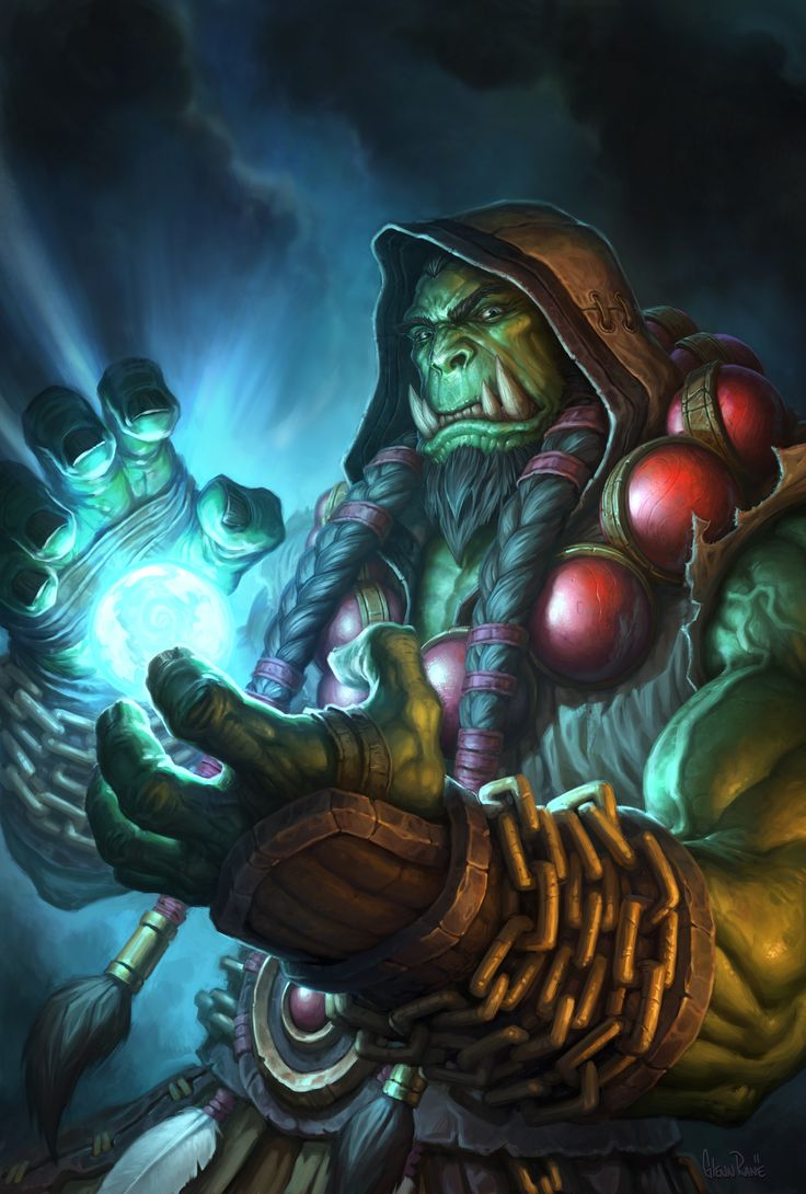 Thrall Hearthstone Hero Portrait by Arsenal21.deviantart.com on @DeviantArt