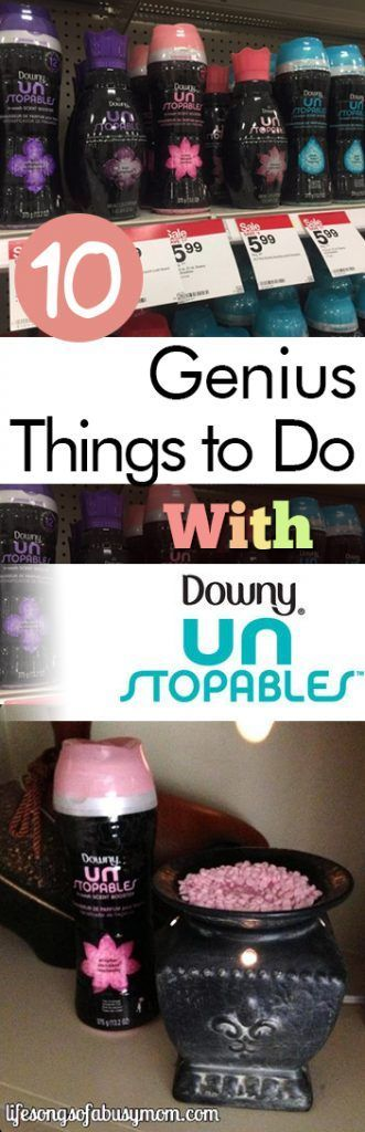 10 Genius Things to Do With Downy Unstoppables| Downy, Downy Unstoppables, Laundry Hacks, Home Hacks, Life Hacks #LifeHacks #DownyUnstoppables