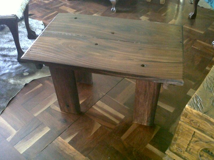 Solid sleaper table #handmade #chk #ownbusiness