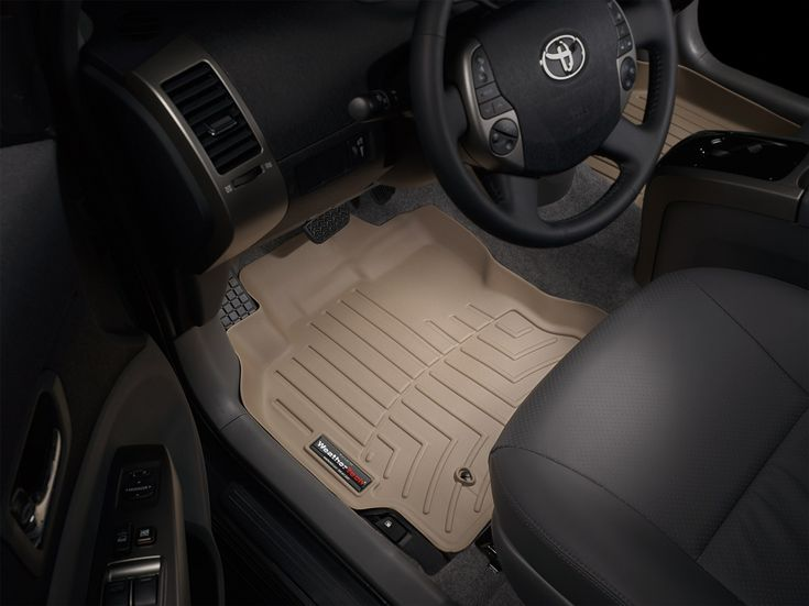 Laser cut, vehicle specific, floor liners. See review at;  http://4x4channel.tv/floor-mats-that-work-by-weather-tech/
