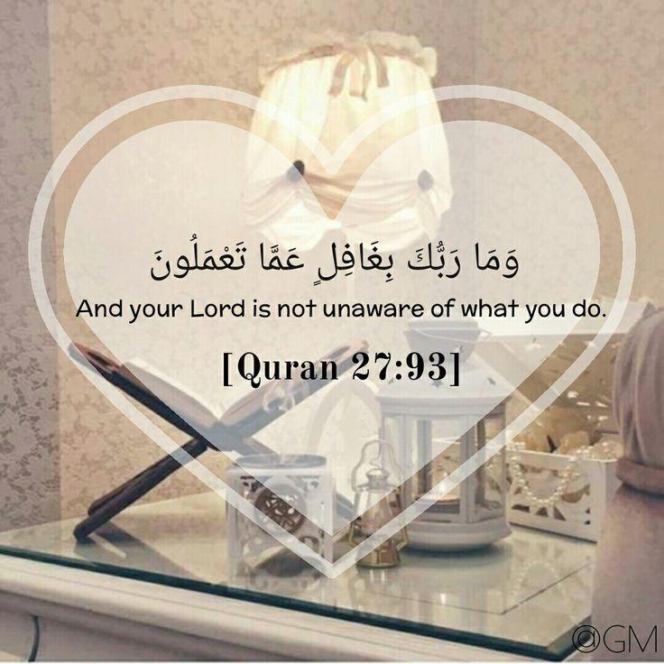 Quran 27:93