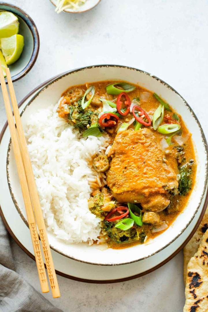 Coconut Curry Chicken Recipe Curry Chicken Easy Dinner Recipes Curry
