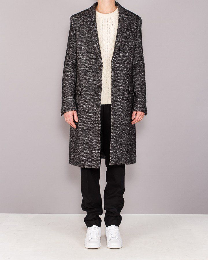 3 BUTTONS CLASSIC COAT - Herre | YME Universe