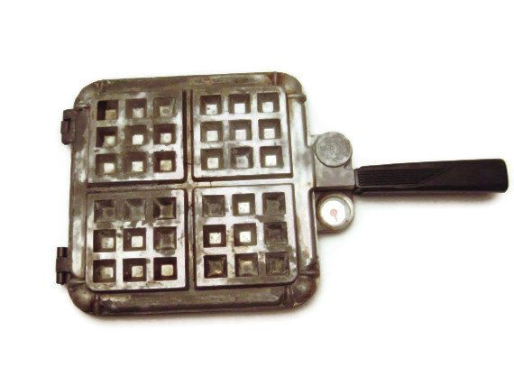 Nordic Ware Bundt Belgian Waffle Maker Thick n' by EclecticGals, $39.99