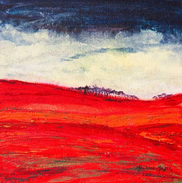 """Autumn Hills 01"" by Melanie Meyer from her Emergence Art Gallery  in Cape Town"