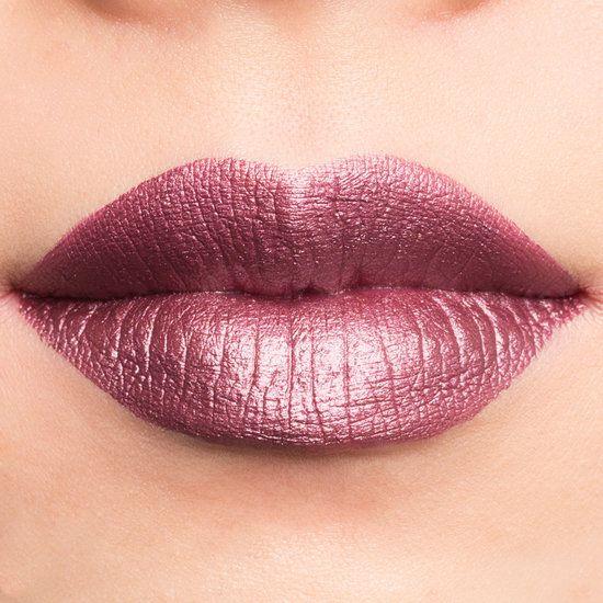 Jouer Cosmetics Long-Wear Lip Crème Snapdragon  Metallic Cool Frosty Plum