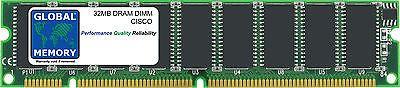 32MB DRAM DIMM CISCO 7500 SERIES ROUTERS ROUTE SWITCH PROCESSOR 4 (MEM-RSP4-32M)