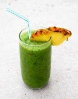 Recept Spinaziesap met Ananas Enorm lekker mix groentesap en fruitsap.