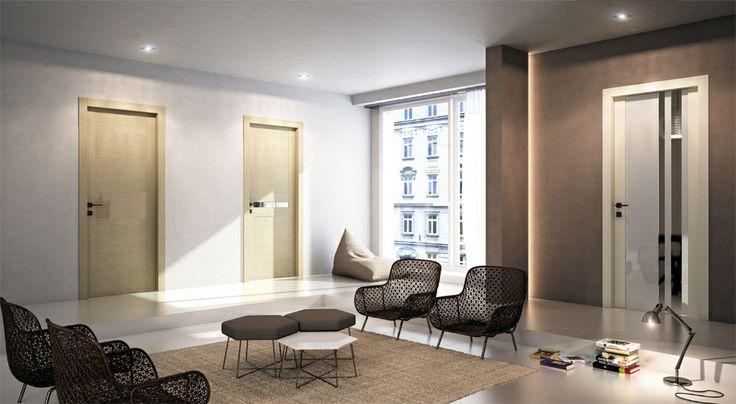 FBP porte | Collezione LAURA Mod. 306, 307 e 301 a vetro #fbp #porte #legno #door #wood