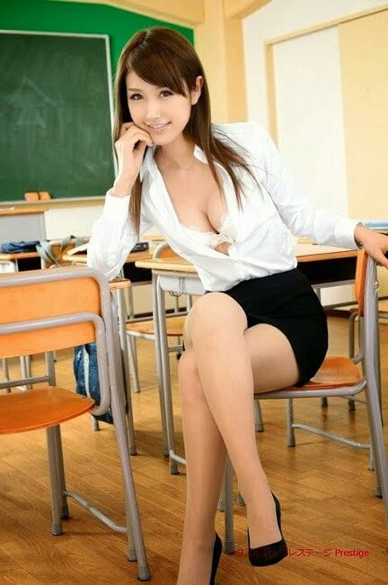 Hot asian teacher joi 10
