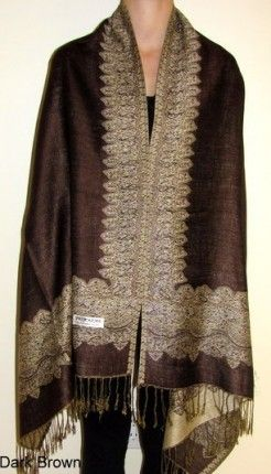Distinctive shawls and wraps http://www.yourselegantly.com/border-pashmina-shawls-and-wraps-in-many-colors.html