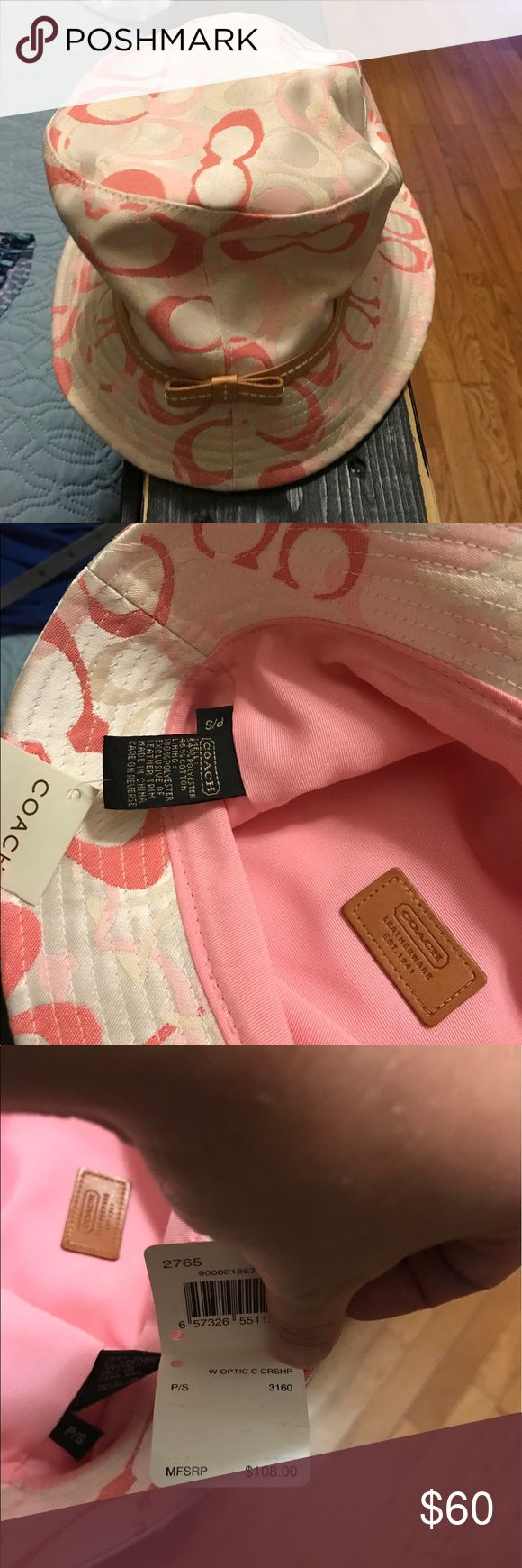 Women's Coach Hat *NWT* This hat is brand new with tag still attached. Coach Accessories Hats