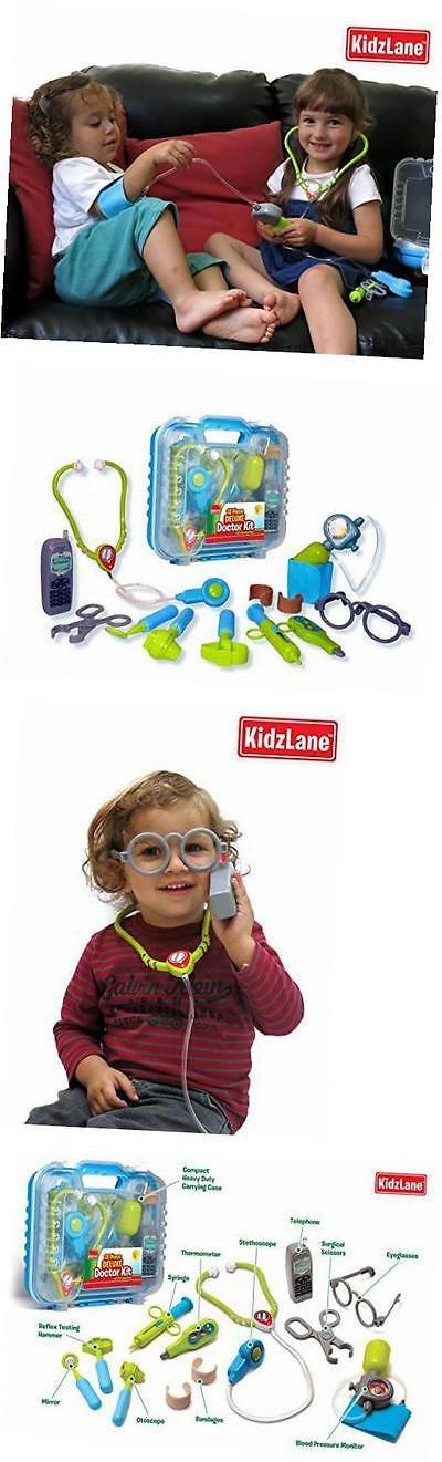 Doctor Nurse Kits 158741: Durable Kids Doctor Kit With Electronic Stethoscope And 12 Medical Doctor?S -> BUY IT NOW ONLY: $33.35 on eBay!