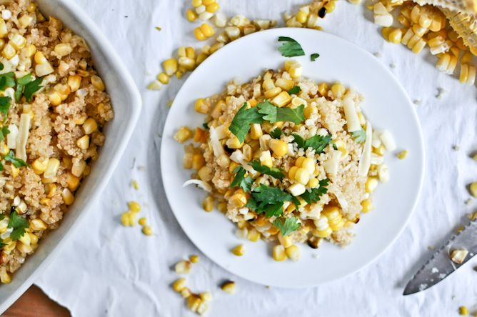 Grilled Corn + Cheddar Quinoa!!: Grilled Summer, Cheddar Quinoa, Cheddar Cheese, Summer Corn, Quinoa Salad, Sweet Corn, Grilled Recipes, Grilled Corn, Vegetarian Recipes