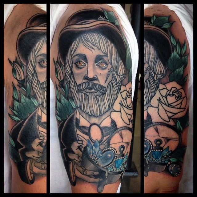 Ray Lamontagne tattoo by Missy Rhysing