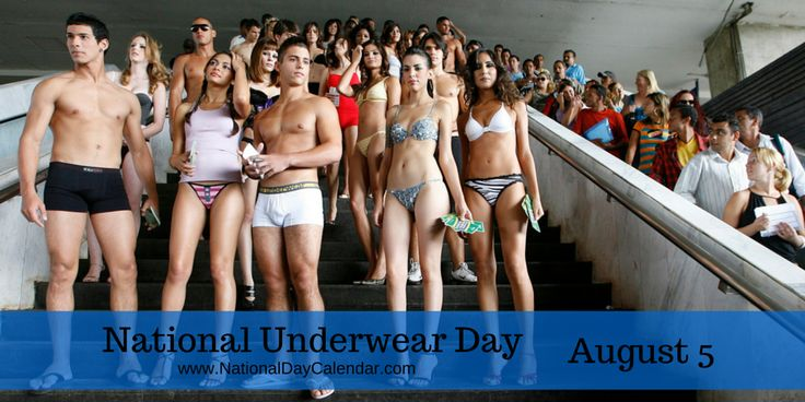 Woof! #NationalUnderwearDay can be a tad bit embarrassing. Certainly not for the faint of heart.