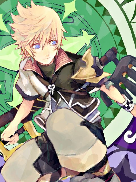 Roxas- Kingdom Hearts 358/2 days<<< EXUSE ME BUT THAT IS VENTUS FROM BIRTH BY SLEEP YOU  UNEDUCATED FART.