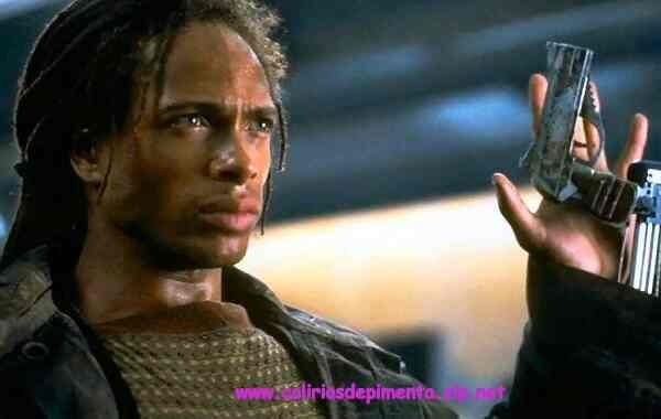 Gary Dourdan...or shall   I say delicious?