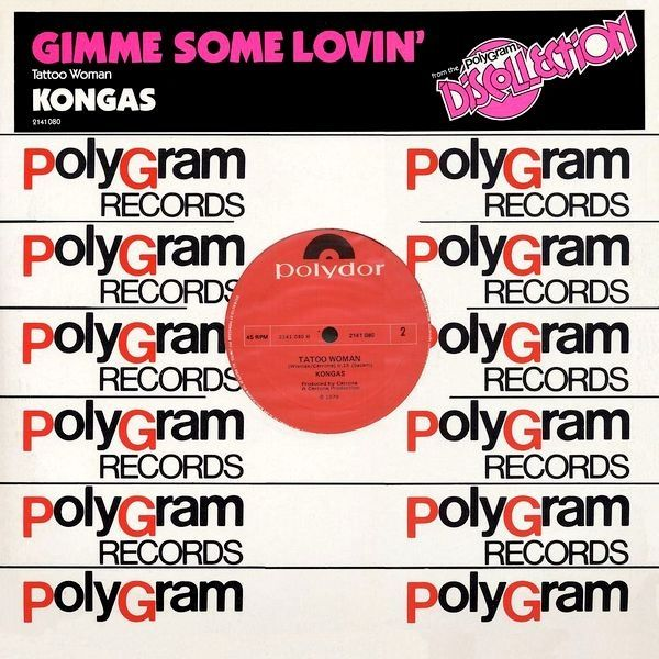 """Kongas - Gimme Some Lovin': buy 12"""" at Discogs"""