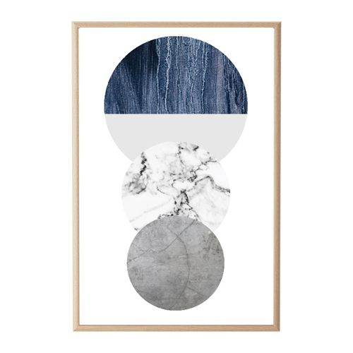 Marble Concrete Circular Print by House Amour