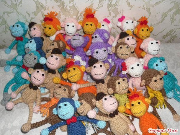 Вязание игрушек крючком фото и описание (из интернета) / Мир игрушки / Вязаные игрушки. Мастер-классы, схемы, описание.